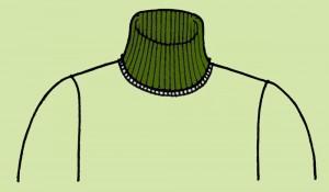 海外でまったく通用しないファッション用語:ハイネック