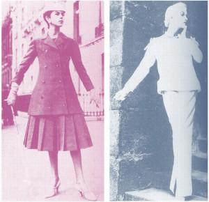 年代別『流行ファッション』物語:50年代の婦人服ファッションの流れは「ラインの時代」
