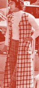 ファッション・トリビア蘊蓄学:昔、ベストは超ロングだった