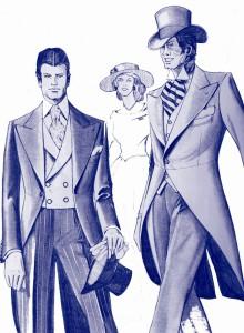 服装スタイルの「謎・不思議」: モーニング・コートのいわれは?