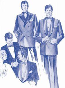 服装スタイルの「謎・不思議」: タキシードとディナージャケットは違うの?