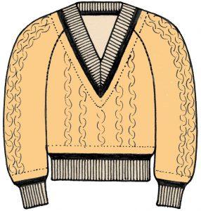 海外でまったく通用しないファッション用語:セーター