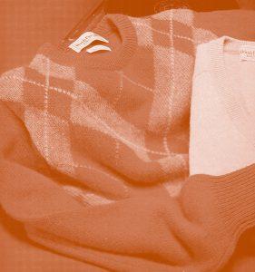 ファッション・トリビア蘊蓄学:セーターは汗をかかせるものという意味