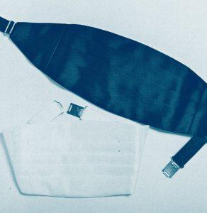 服装スタイルの「謎・不思議」: カマーバンドのヒダ・デザインは何のため?