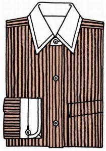 海外でまったく通用しないファッション用語:クレリック・シャツ