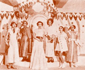 ファッション・トリビア蘊蓄学:日本最初のファッションショーも三越