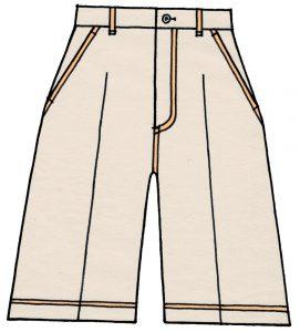 海外でまったく通用しないファッション用語:キュロット・スカート