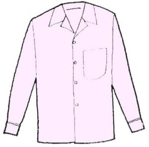 海外でまったく通用しないファッション用語:オープン・シャツ