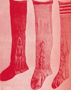 ファッション・トリビア蘊蓄学:ストッキングは、最初男性用だった