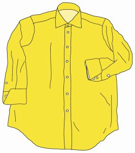 海外でまったく通用しないファッション用語:カラー・シャツ