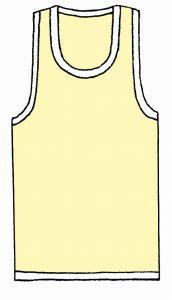 海外でまったく通用しないファッション用語:ランニング・シャツ
