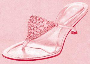 ファッション・トリビア蘊蓄学:女性のミュールは赤い色の魚の名