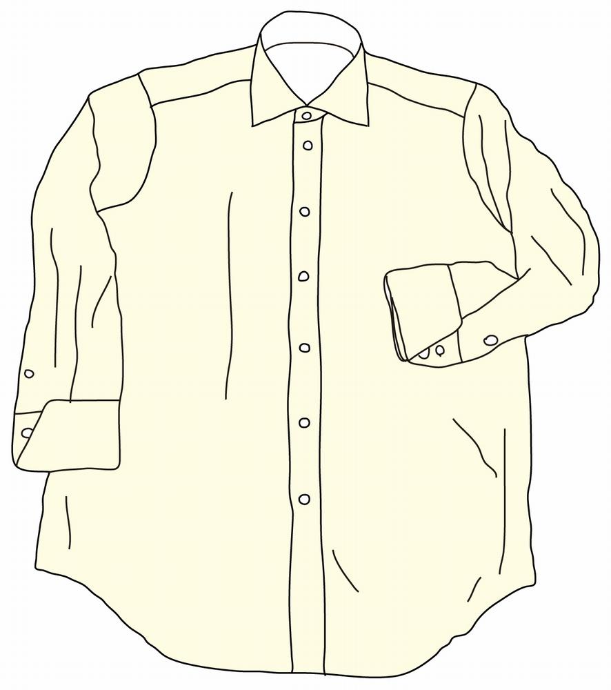 海外でまったく通用しないファッション用語:カッターシャツ