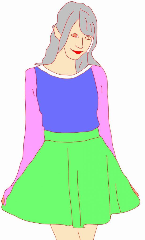 海外でまったく通用しないファッション用語:フレアー・スカート