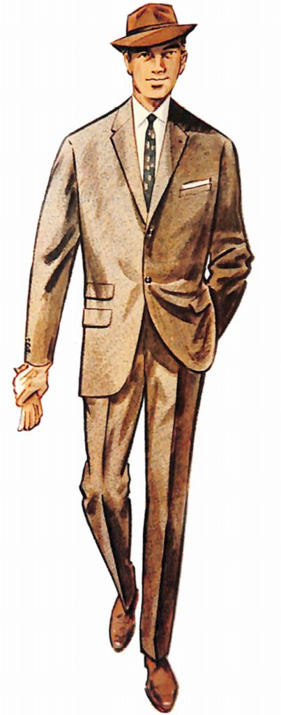 50〜60年代に流行したスーツ・スタイル:フランス・コンチネンタル・スーツ