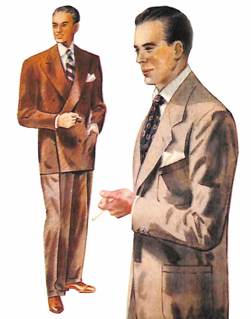 50〜60年代に流行したスーツ・スタイル:人気のあったブラウン系のスーツ