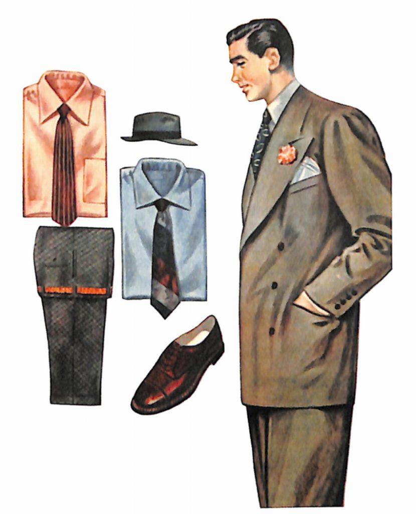 50〜60年代に流行したスーツ・スタイル:人気の薄茶色のスーツ