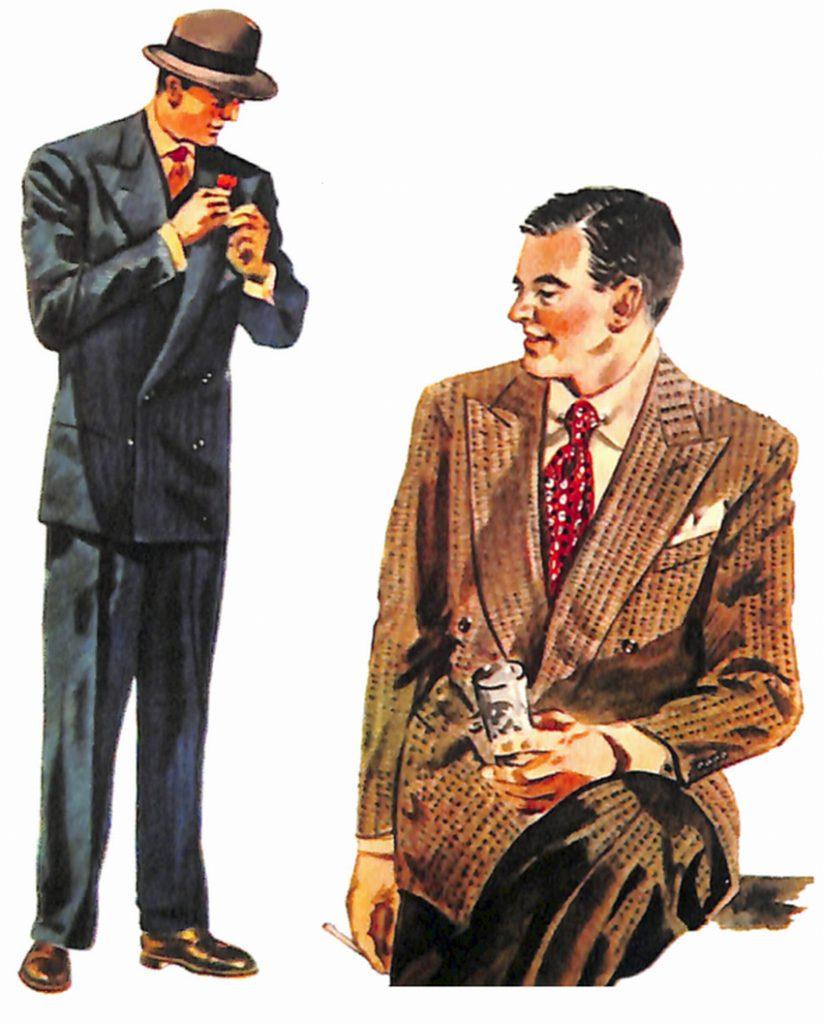 50〜60年代に流行したスーツ・スタイル:新しいダブルブレステッド・スタイル