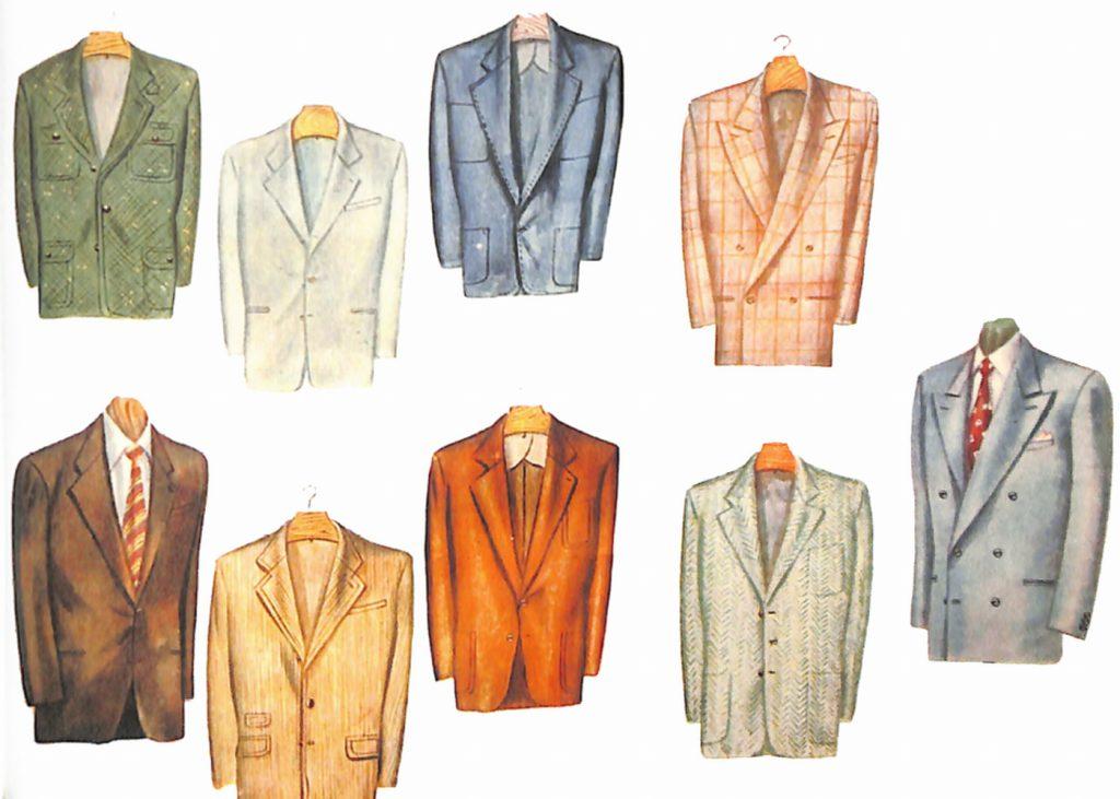 50〜60年代に流行したジャケット・スタイル:流行ジャケットの形いろいろ