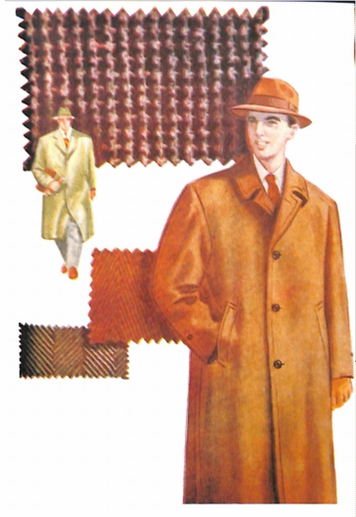 50〜60年代に流行したコート・スタイル:スプリングコート