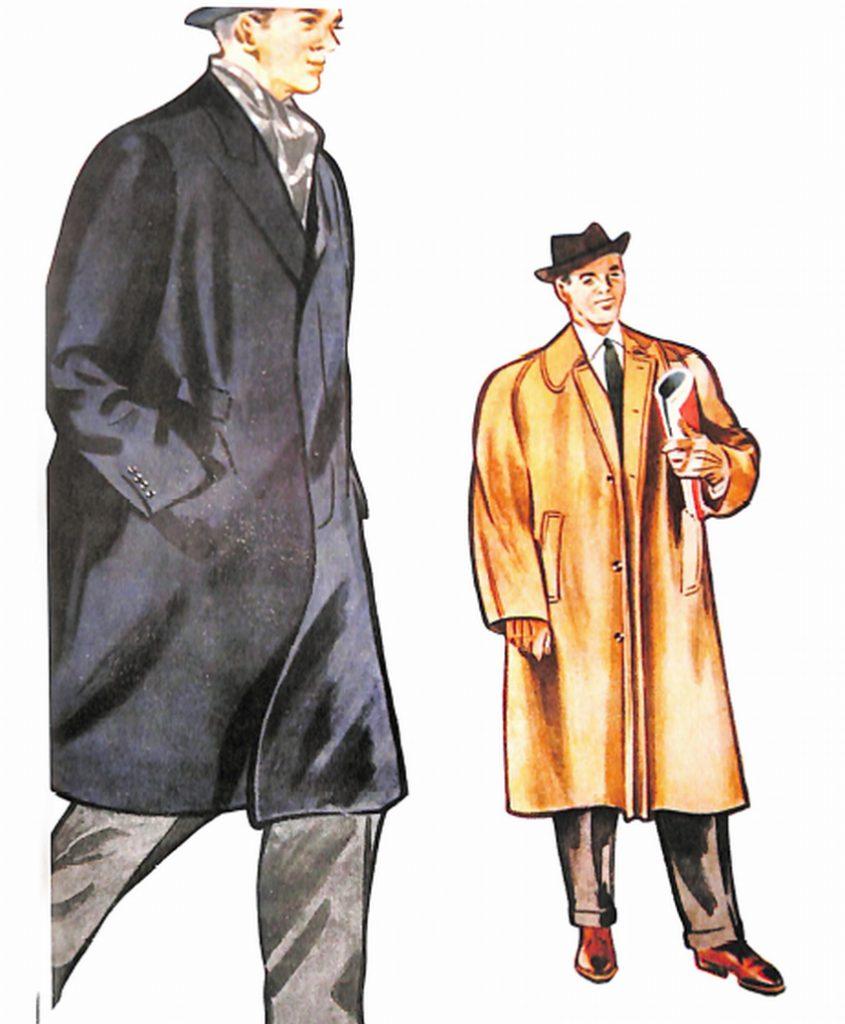 50〜60年代に流行したコート・スタイル:ウーステッド・コート