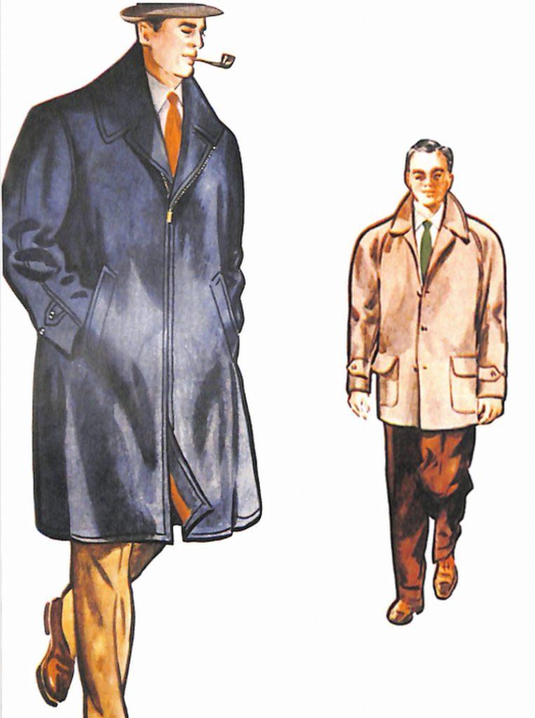 50〜60年代に流行したコート・スタイル:スポーティーなコート