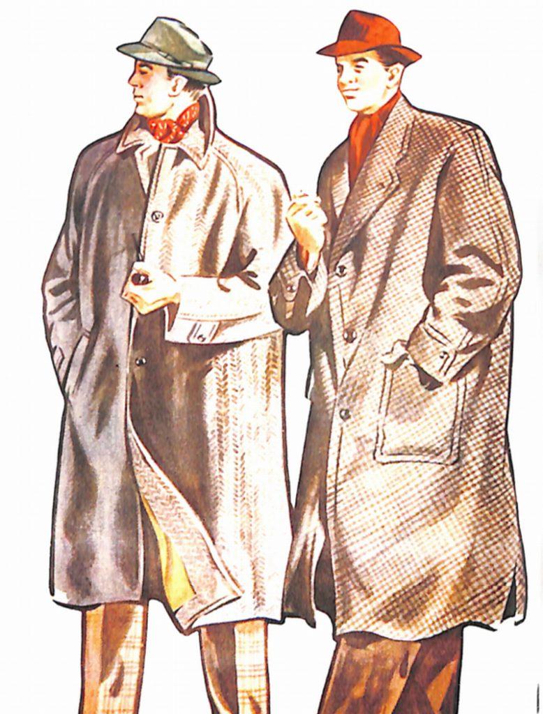 50〜60年代に流行したコート・スタイル:ウールコート2着