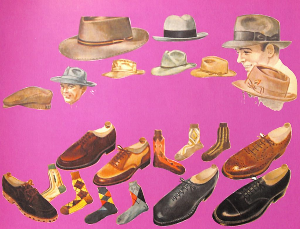 50〜60年代に流行したアクセサリー・スタイル:帽子と足元のおしゃれ