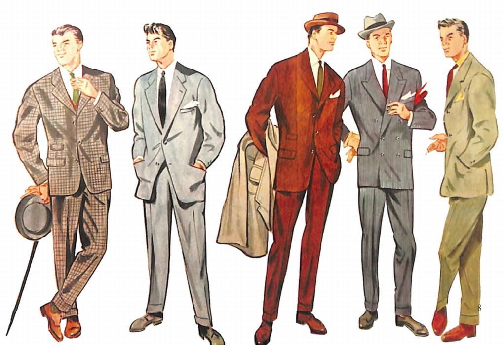 50〜60年代に流行したスーツ・スタイル:百花繚乱!カラード・スーツ