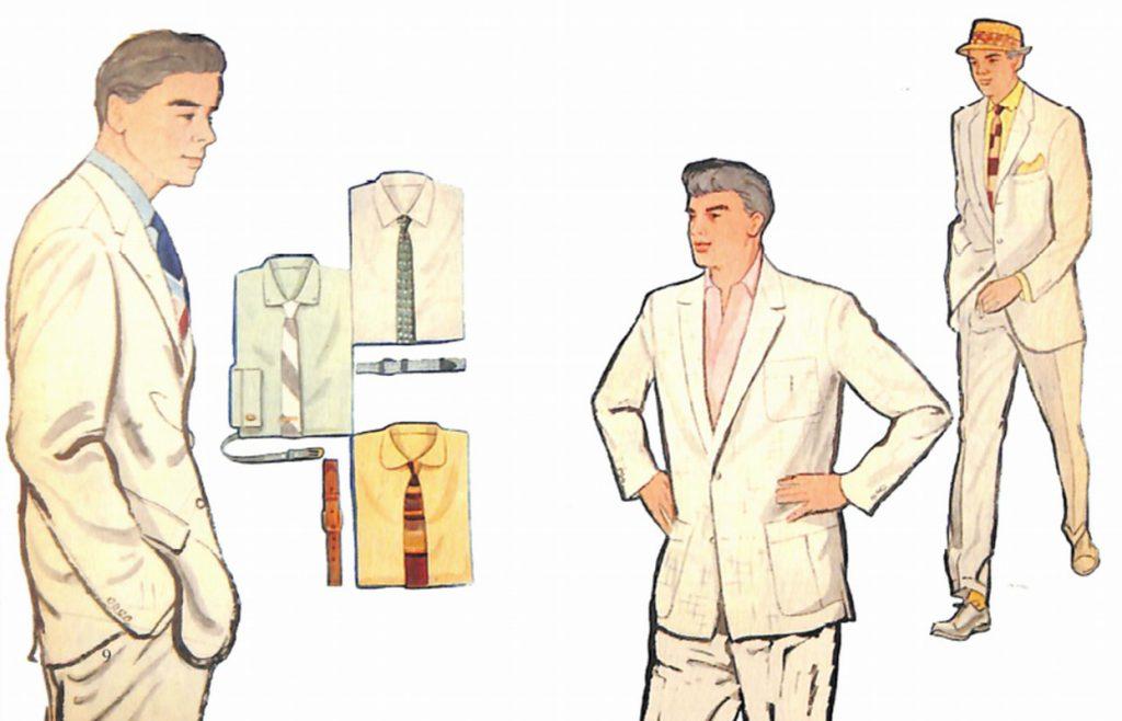50〜60年代に流行したスーツ・スタイル:復活したホワイトスーツ!