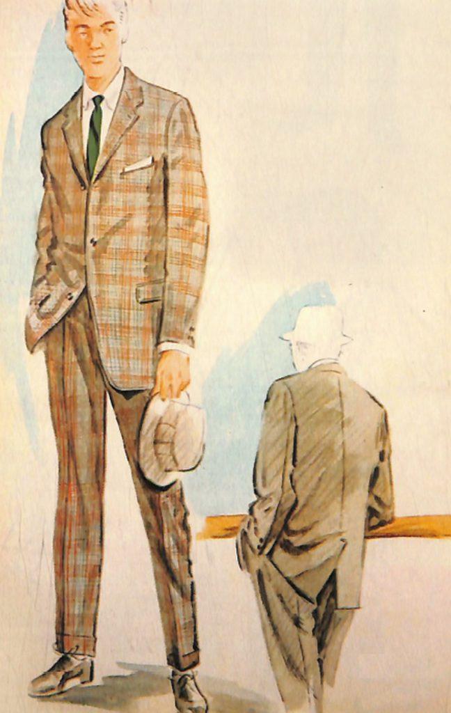 50〜60年代に流行したスーツ・スタイル:58年のトップモードはアイビースタイル