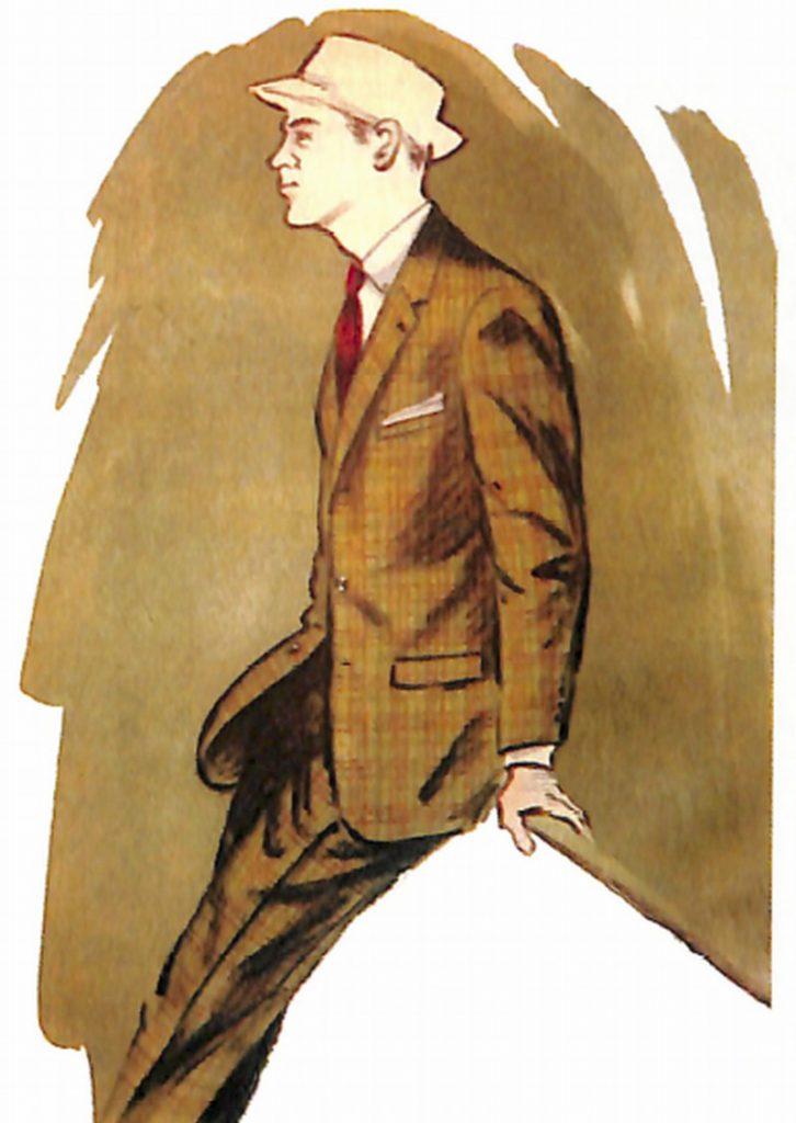 50〜60年代に流行したスーツ・スタイル:オーバープレイド・スーツ