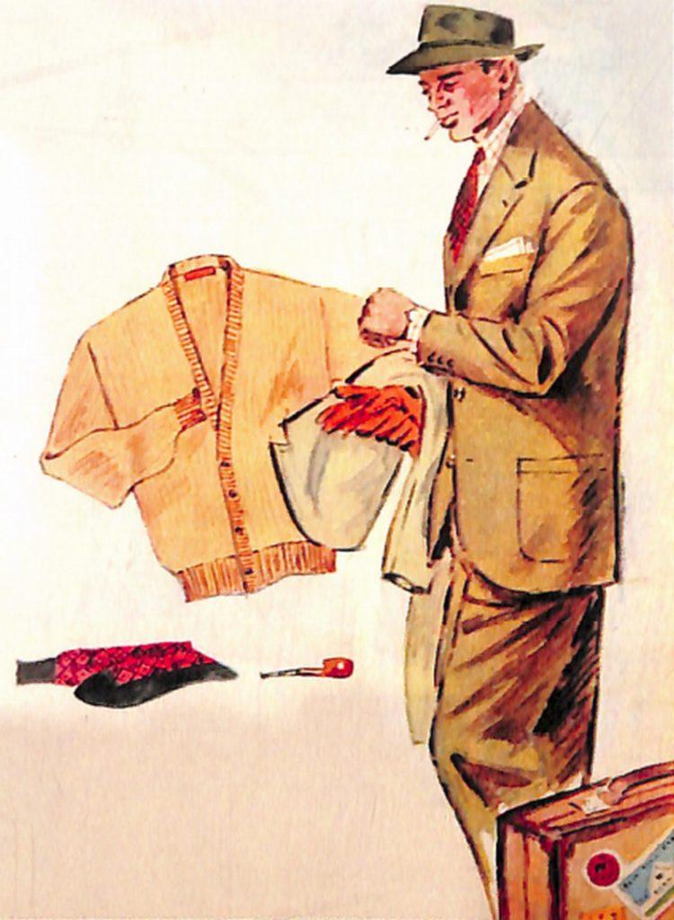 50〜60年代に流行したスーツ・スタイル:エレガントモードの継続
