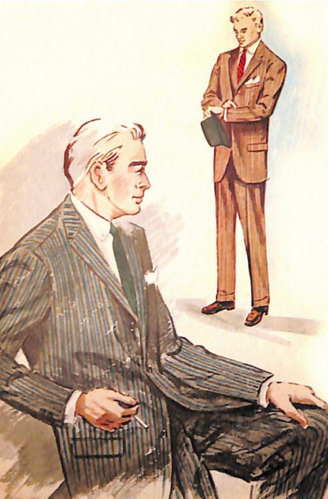 50〜60年代に流行したスーツ・スタイル:復活するストライブド・スーツ