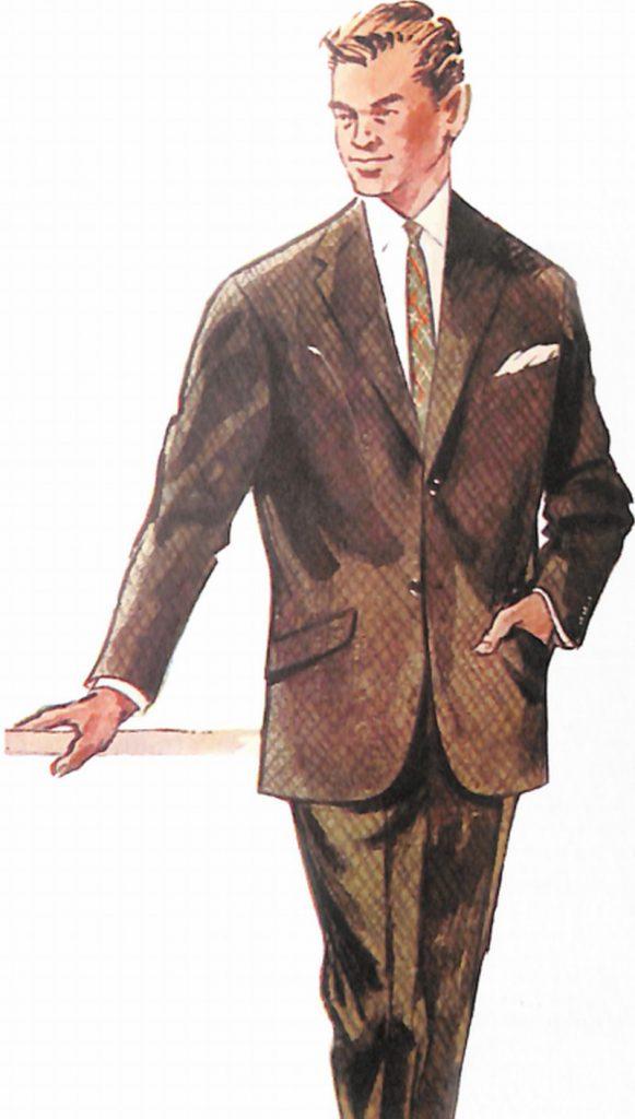50〜60年代に流行したスーツ・スタイル:BCラインのスーツ