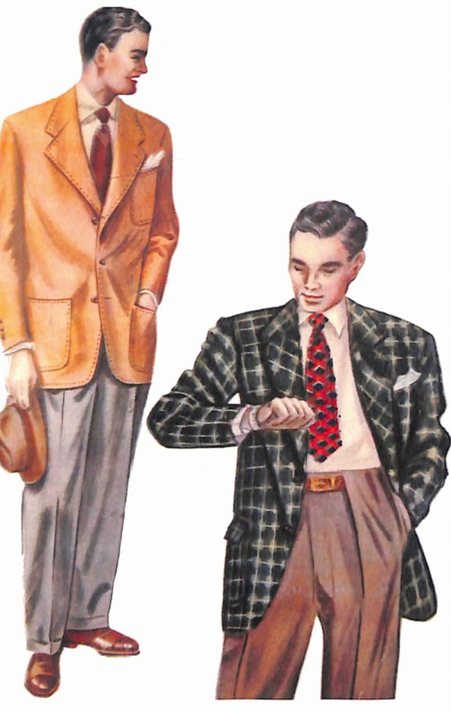 50〜60年代に流行したジャケット・スタイル:1951年春のジャケット