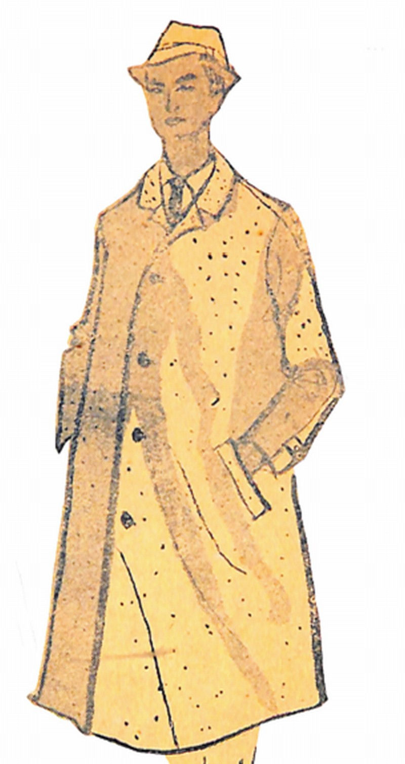 50〜60年代に流行したコート・スタイル:サバーバンコート