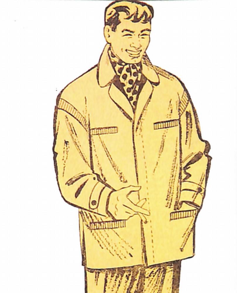 50〜60年代に流行したコート・スタイル:カジュアルなショートコート