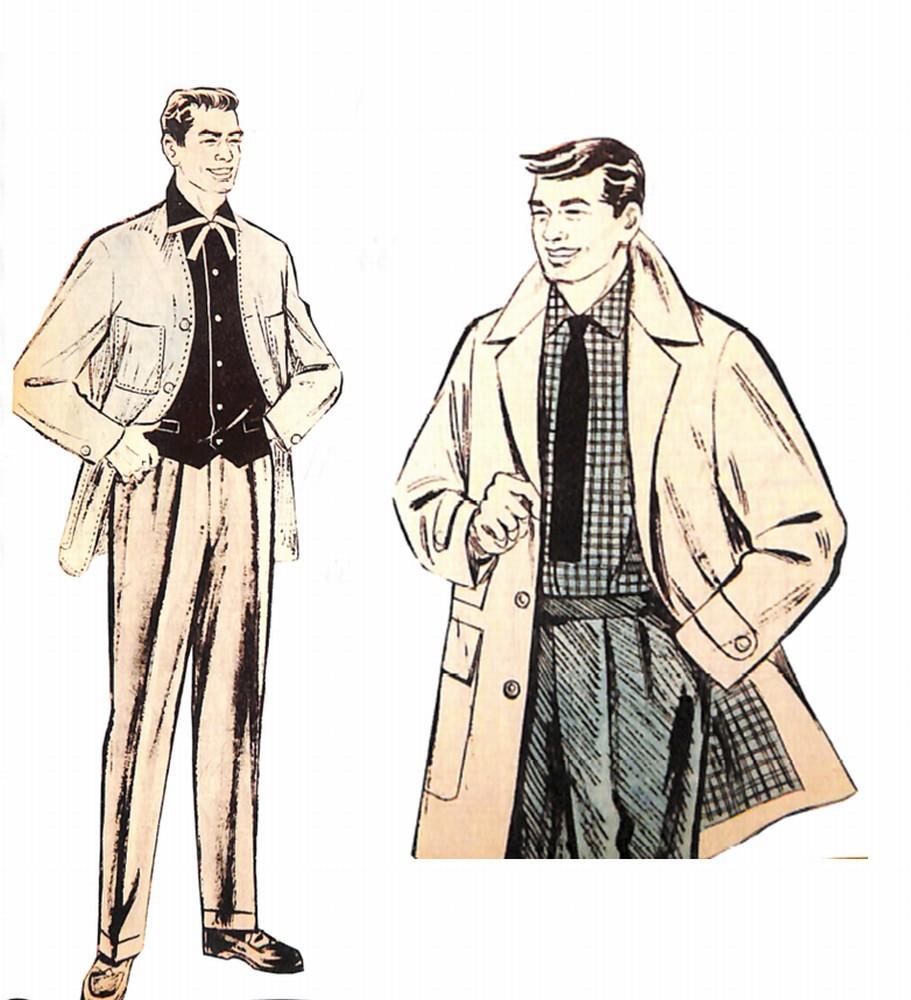 50〜60年代に流行したコート・スタイル:新感覚のデザインコート