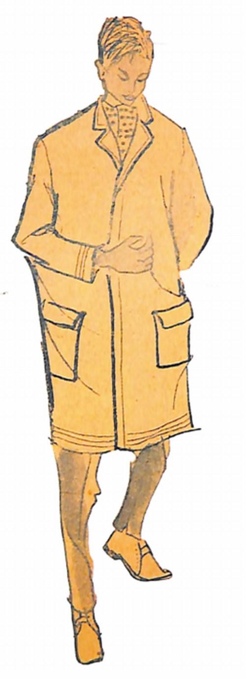 50〜60年代に流行したコート・スタイル:ウオーキングコート