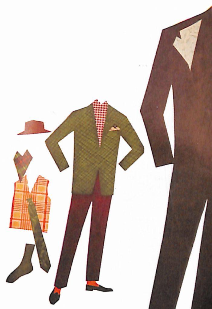 50〜60年代に流行した配色スタイル:ダークグリーンの背広