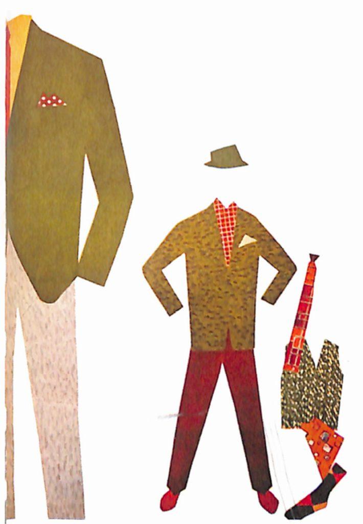 50〜60年代に流行した配色スタイル:ライトグリーンの背広