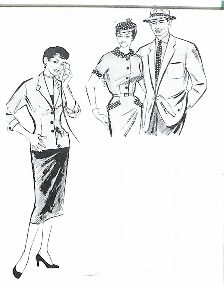 50〜60年代に着こなしスタイル:夜のプライベート・スタイル