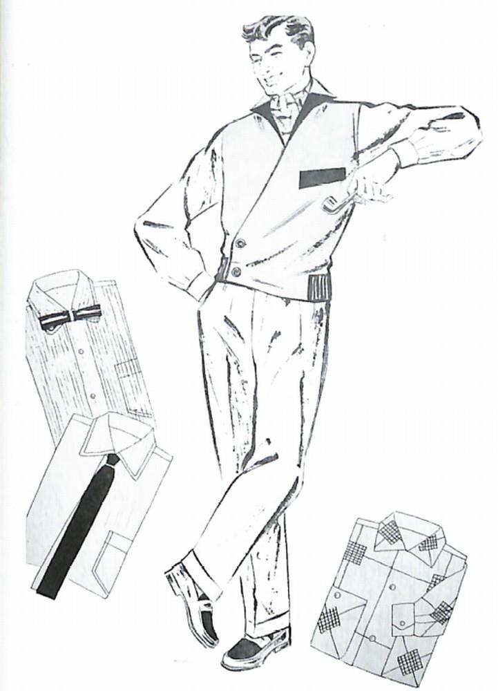 50〜60年代に着こなしスタイル:新感覚のシャツ・スタイル