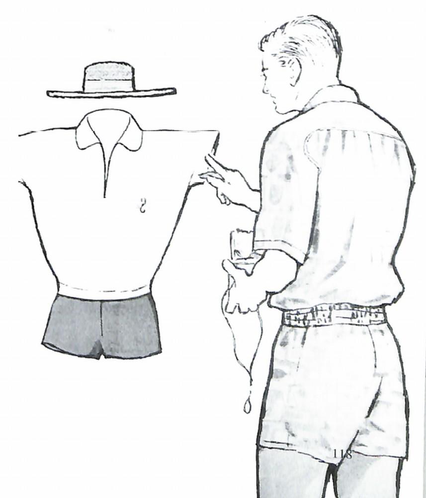 50〜60年代に着こなしスタイル:55年夏のビーチウエア