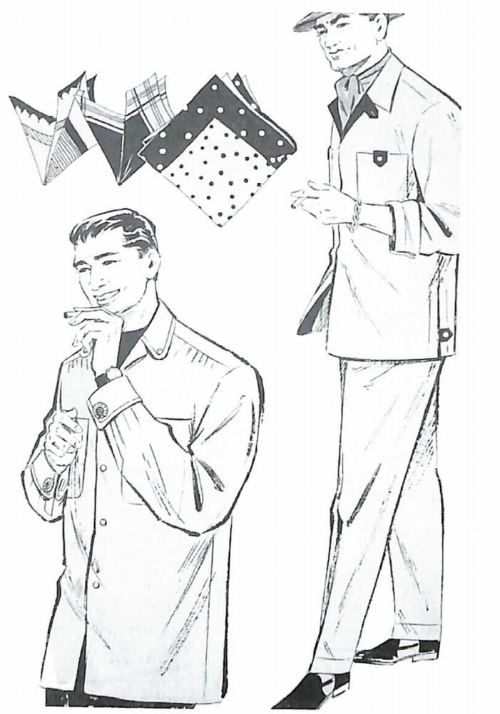 50〜60年代に着こなしスタイル:新しいシャツ・ジャケット