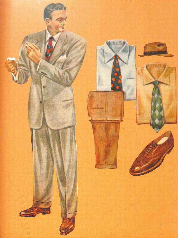 50〜60年代に流行したスーツ・スタイル