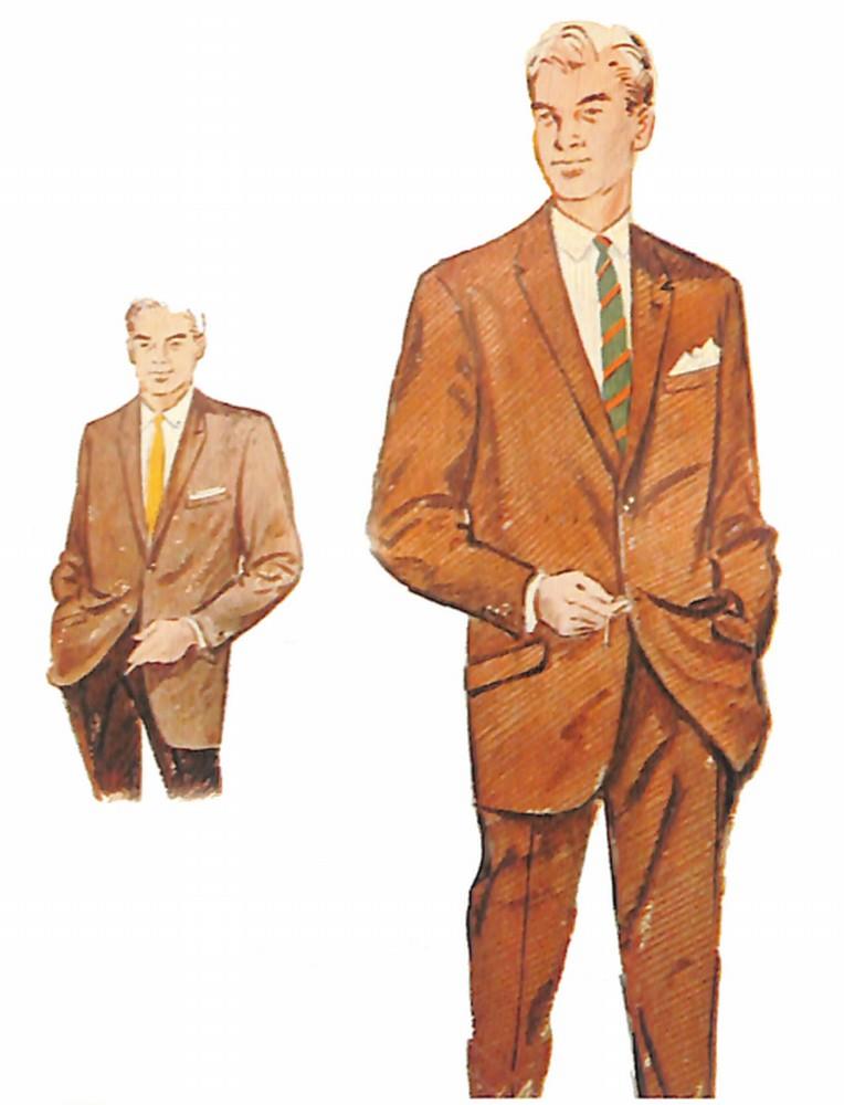 50〜60年代に流行したスーツ・スタイル:コーディネーション・ルックという名のスーツ