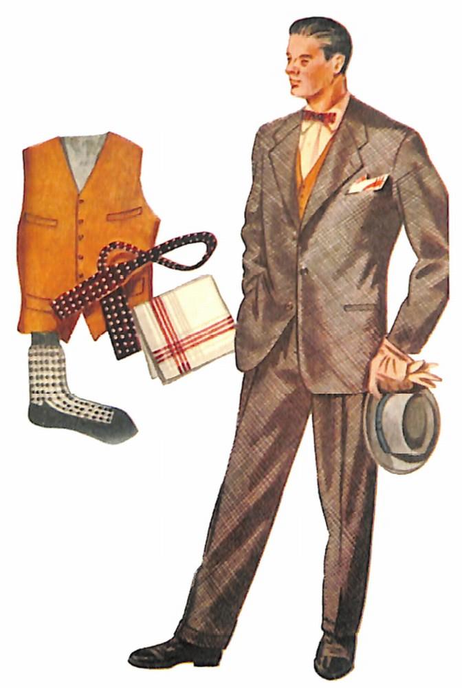 50〜60年代に流行したスーツ・スタイル:1961年のグレースーツ