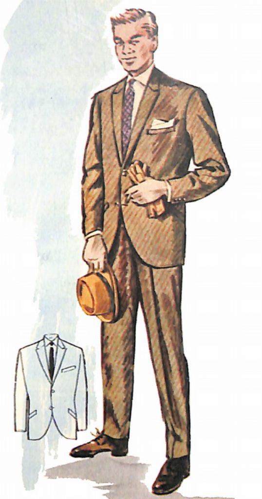 50〜60年代に流行したスーツ・スタイル:'60sニューモデルスーツ(2)